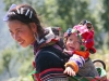 Vietnamese woman and child, Sapa Vietnam