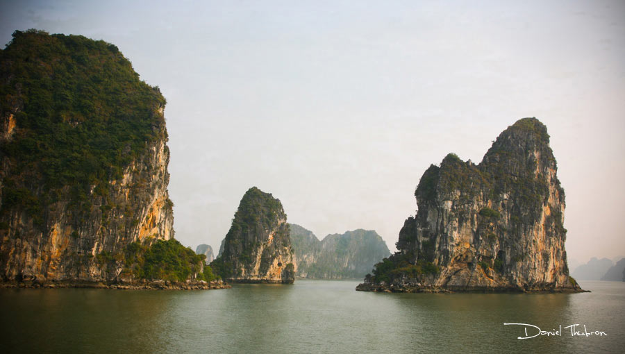 Halong Bay, Vietnam photography by Daniel Thubron